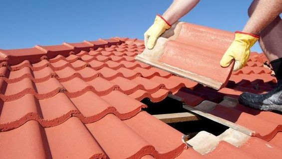 Maintaining tiled roofs