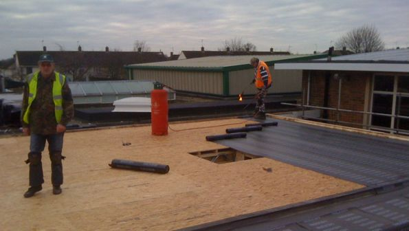 Installing Flat Roofs