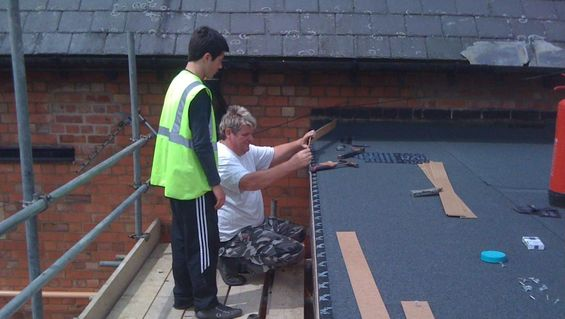 Flat roofing by experts